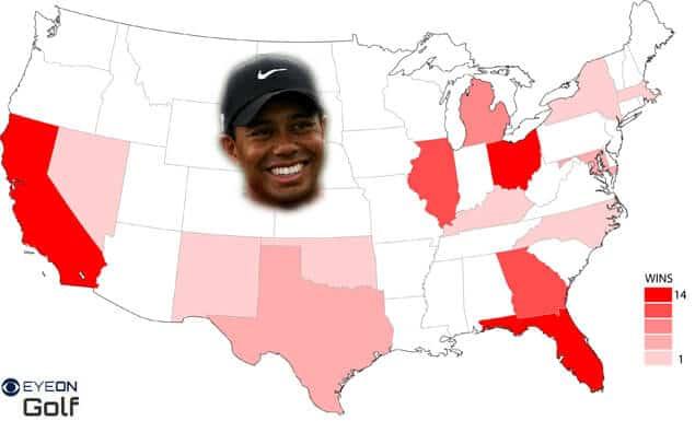 Tiger Woods Carte-Victoires