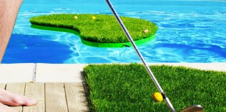 Swimming Golf