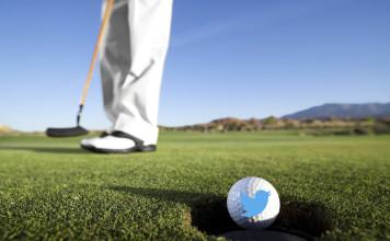 Utiliser Twitter pour un golf