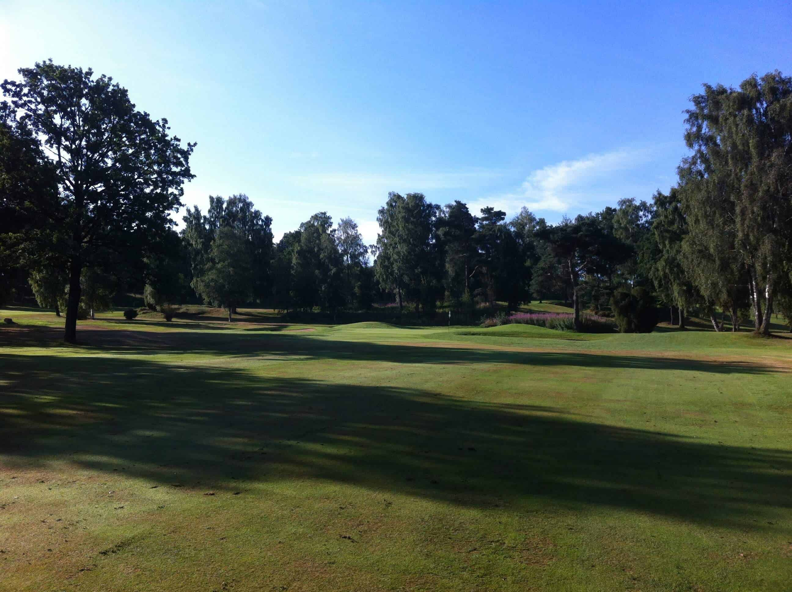 Trou3_Falkenberg - Golf en Suède