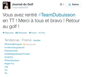 TT - Team Dubuisson