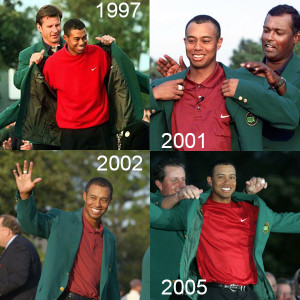 Augusta Masters - Victoires Tiger Woods