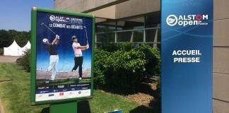 Accrédité pour l'Open de France 2014