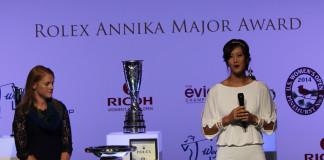 Michelle Wie - Annika Major Award 2014