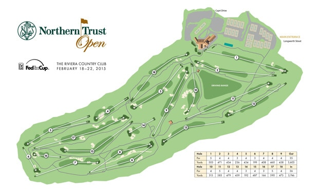Northern Trust Open - Course