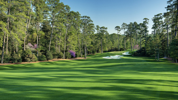 Trou 10 - Augusta National - Masters 2015
