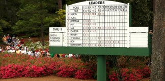 Spieth - 36-hole record Masters 2015