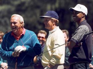 Nicklaus - Palmer - Tiger Woods