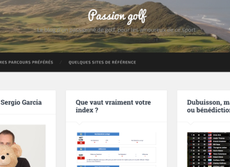 Blog Passion Golf