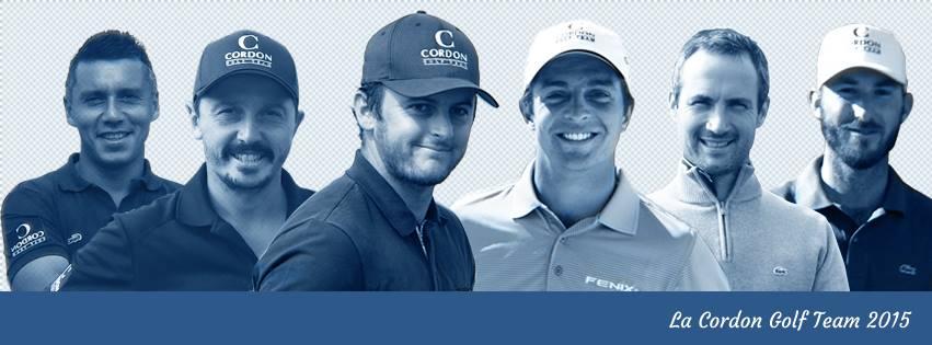 Cordon Golf Team 2015 - Sébastien Gros
