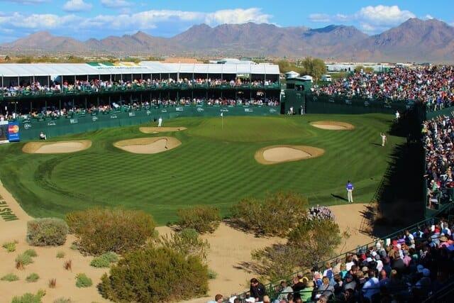 Expérience Spectateur Fan de Golf - Trou 16 - Phoenix Open