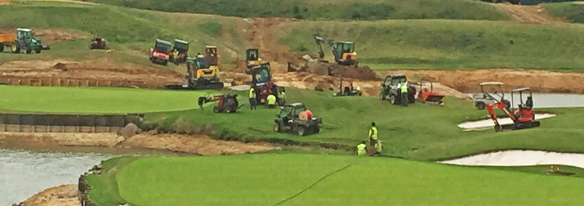 Travaux Albatros_Drainage-Golf-National