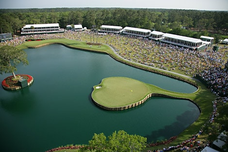 TPC Sawgrass - Hole 17 - The Players Championship 2016