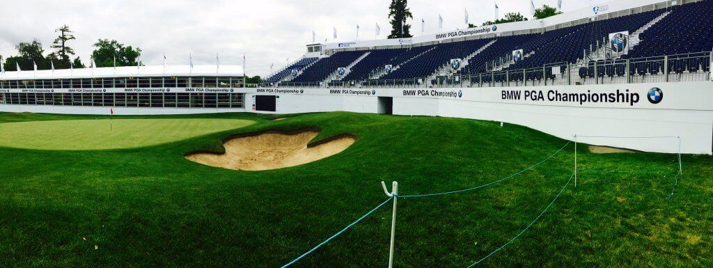 Hole18-West Course-BMW PGA Champ