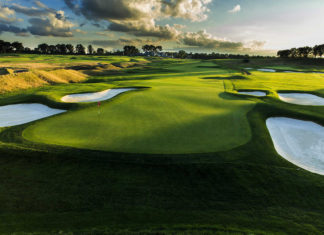 Oakmont CC - US Open 2016 - Hole 12