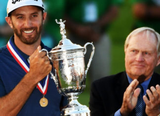 US Open 2016 - Dustin Johnson - Trophée