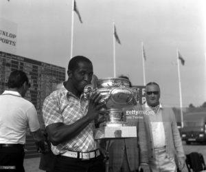 Vincent Tshabalala - Open de France 1976
