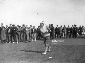 Walter Hagen - Open de France 1920