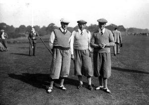 Ernest Whitcombe - open de France 1930