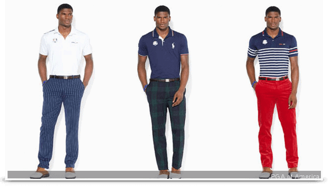 tenues usa - Ryder Cup 2014