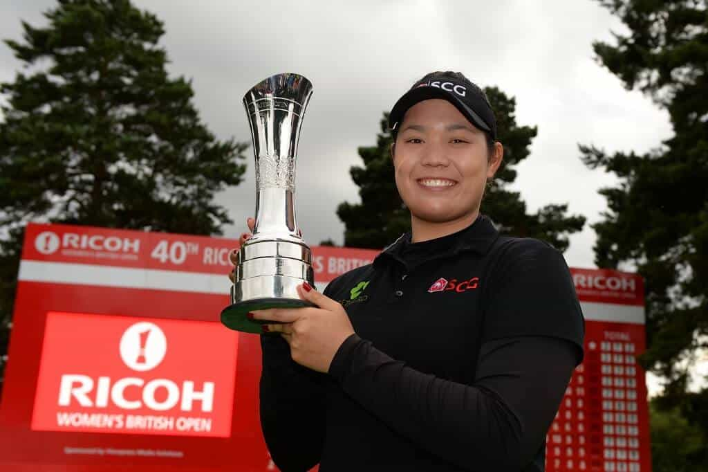 women british open golf