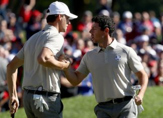 McIlroy - Pieters - Ryder Cup 2016