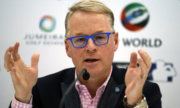 Keith Pelley- European Tour -Rolex Series