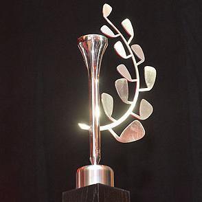 Sculpture-Trophées du golf 2016