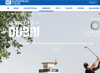 Fantasy Golf - European Tour