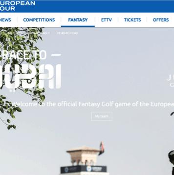 Fantasy Golf - European Tour