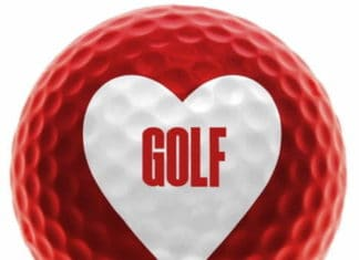cadeaux golf-saint valentin