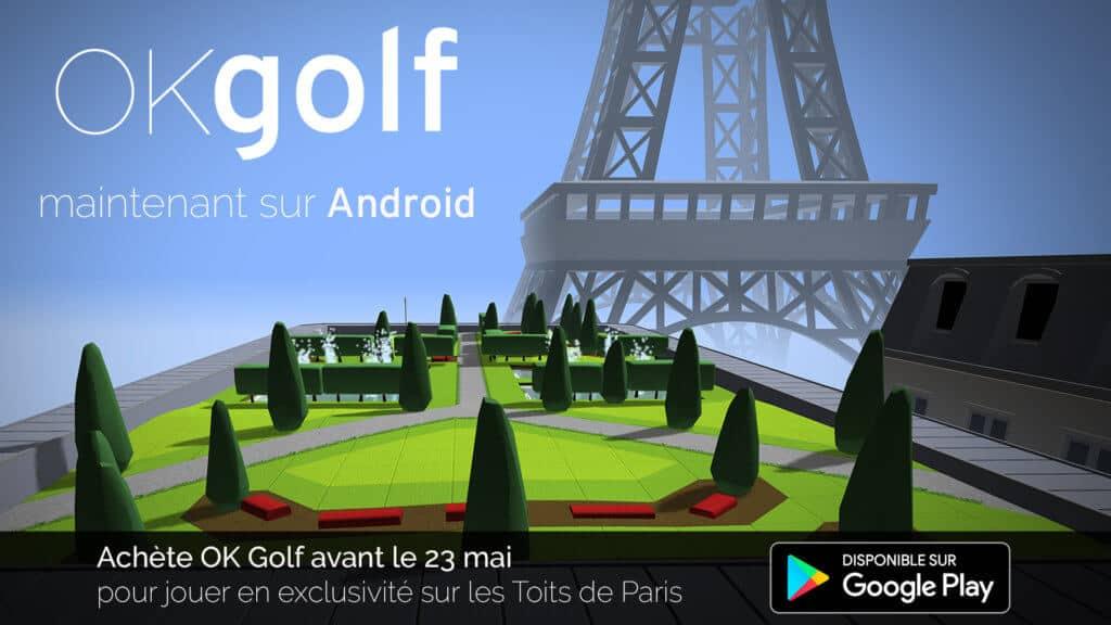 OK Golf - Jeu golf pour Smartphone