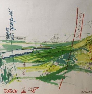 Albatros - tee trou 18 - Hubert Chesneau