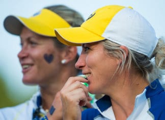 Suzann Pettersen-Melissa Reid-Solheim Cup 2017