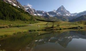 Golf en Italie - Partie 2 - Val d'Aoste