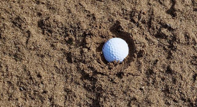 Match de golf faire