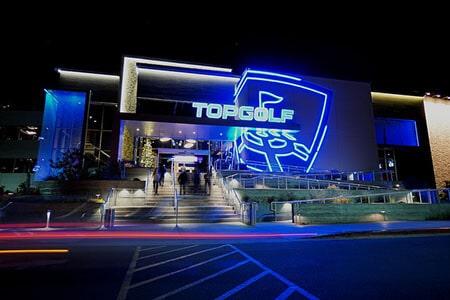 Topgolf by night