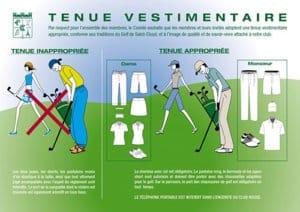 tenue vestimentaire-golf