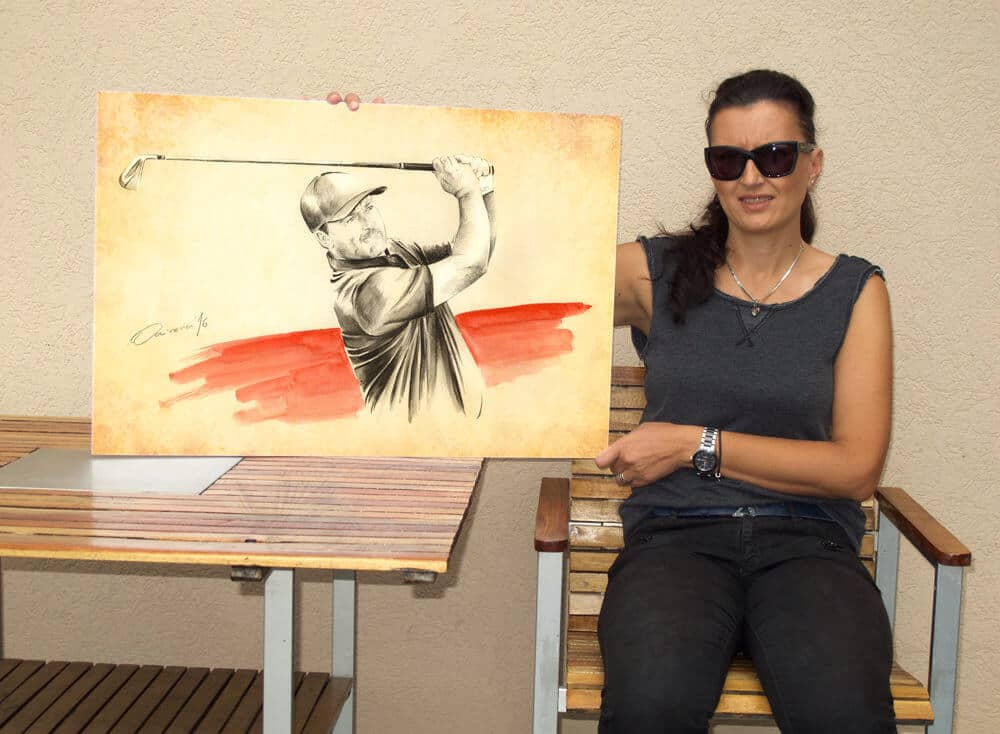 Olivera Cejovic - Golf Art