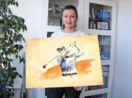Olivera Cejovic - GolfArt -Henrik-Stenson