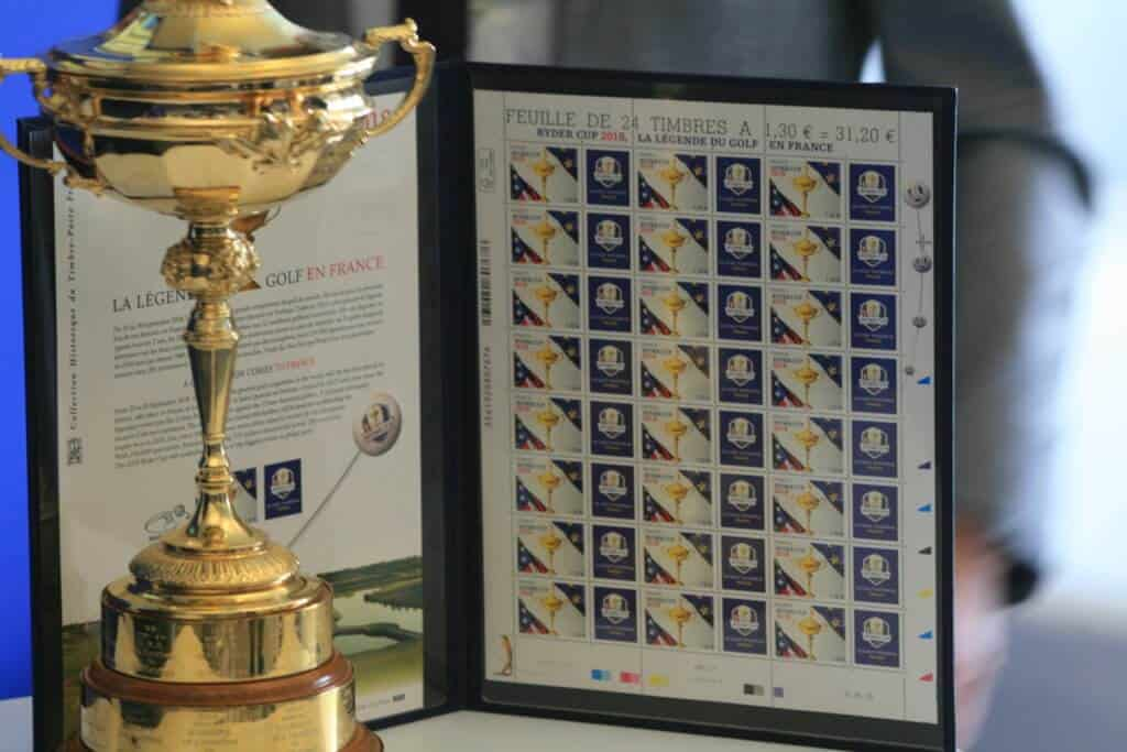timbre Ryder Cup 2018