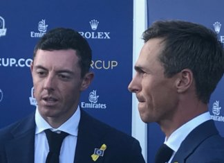 McIlroy-Olesen_Ryder Cup 2018