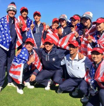 USA-Junior Ryder cup 2018