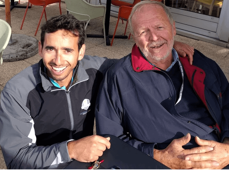Alejandro Reyes et Hubert Chesneau - Golf National