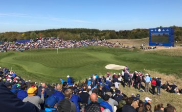 Foule-trou 8-Ryder Cup 2018