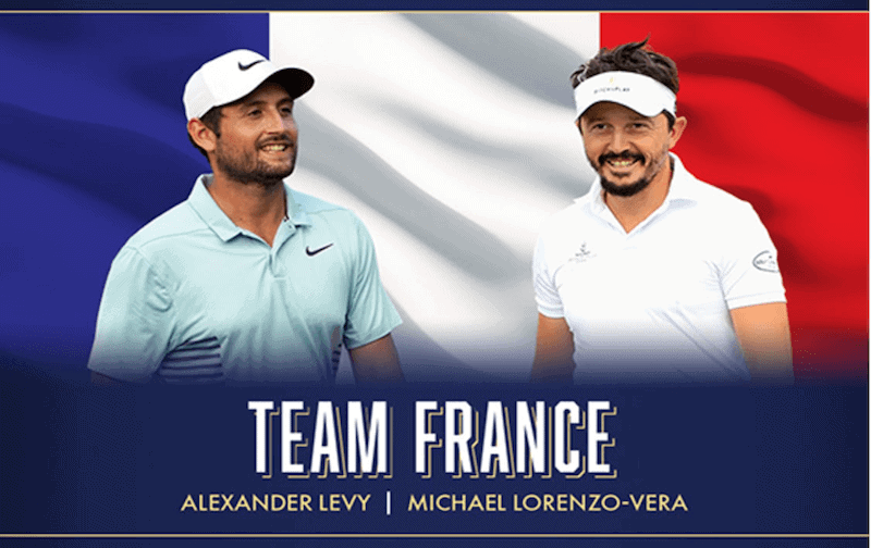France - Coupe du monde de Golf 2018