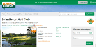 Golf evian - Site web leadingcourses
