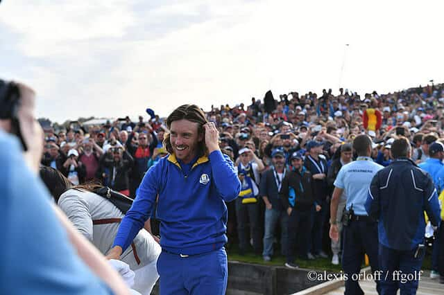 Tommy Fleetwood - Europe - ryder Cup 2018