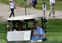 Voiturette-connectée-TeeVee-Diffusion Live golf