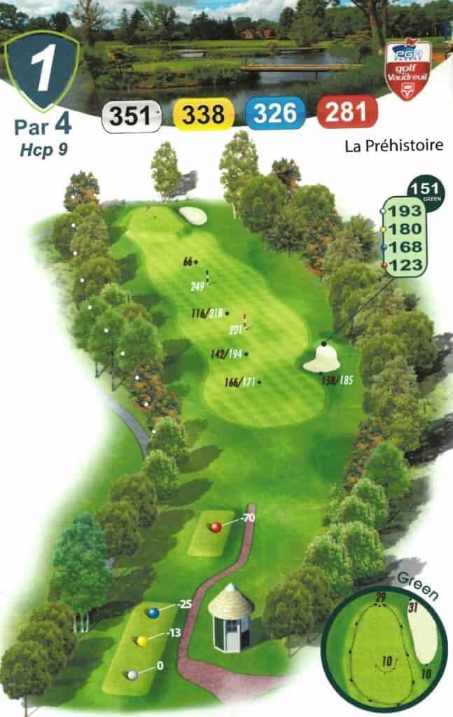 Carnet de parcours - Golf du Vaudreuil